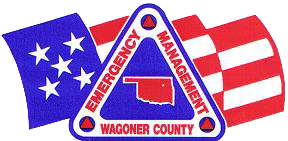 Emergency Management Wagoner County logo